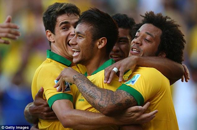 Người hâm mộ Brasil đang rất mong chờ vào tỏa sáng rực rỡ của Neymar và các đồng đội của anh dưới sự dẫn dắt của HLV kỳ cựu Scolari.